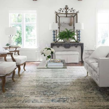 MV-04 Taupe / Ivory Design; Millennium Collection; Transitional Style Rugs; Power-Loomed
