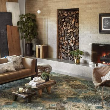 OW-07 Fog / Graphite Design; Owen Collection; Transitional Style Rugs; Hand-Woven