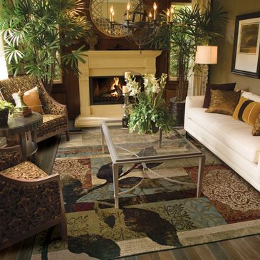 OW-1983A __ Design; Huntington Collection; Contemporary/Traditional/Transitional Rugs; Machine Woven