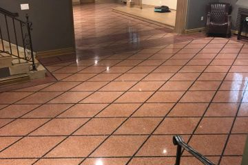 Terrazzo and marble scratch and stain removal. Madison, Milwaukee, Green Bay, Wisc.