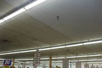Acoustical ceiling restoration, re-coating and resurfacing. Madison, Milwaukee, Appleton, Wisc.