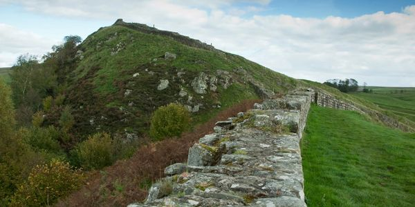 The end of Hadrian's Wall is thought to be at Bowness on Solway, a short distance from our bed and breakfast.