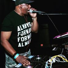 BVAX performing his own music.