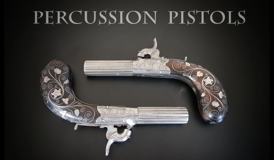Percussion Pistols Page 1 - Ancell of Perth - Royal Gunmaker