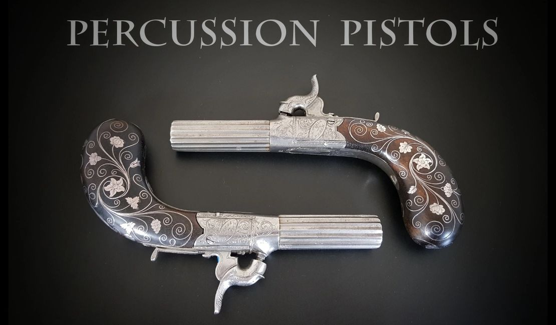 Percussion Pistols page 2 - Robert Ancell - Gunmaker to Prince Albert