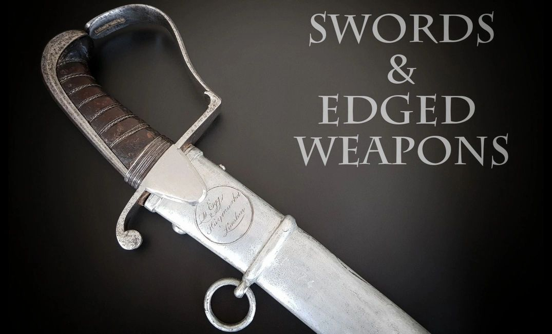 Cavalry Sword by Durs Egg of Haymarket, London with Scabbard