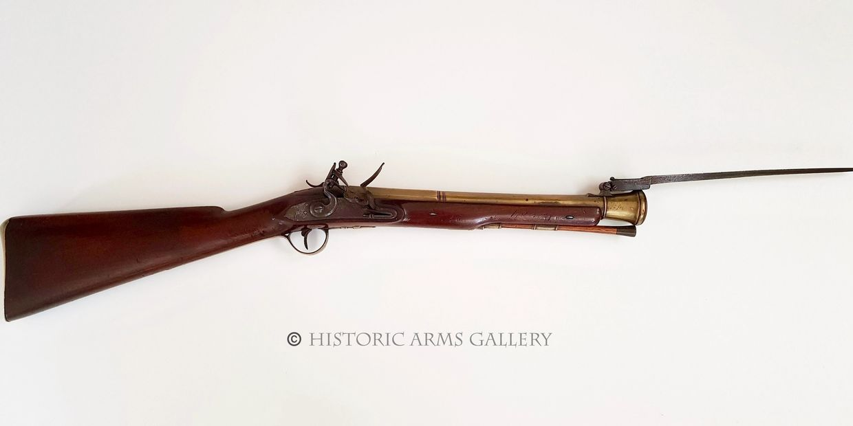 Blunderbuss with Bayonet