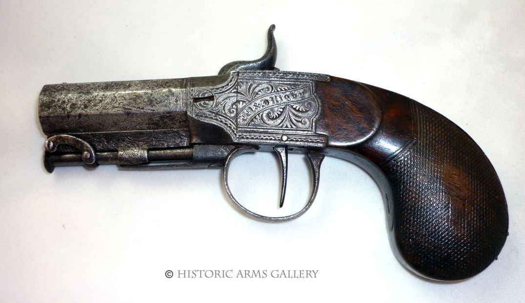 Travelling Pistol by Rigby of Dublin