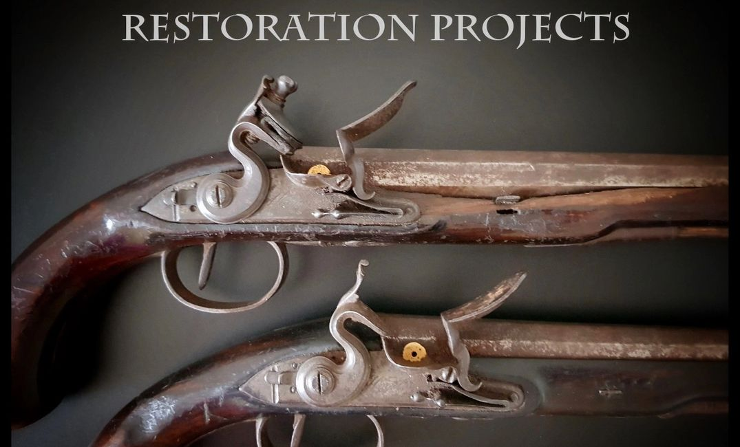 Restoration Projects Page - Wogdon Duellers For Restoration