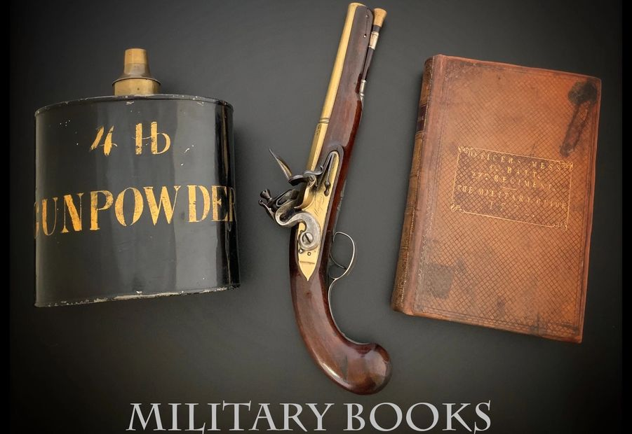 Black Powder, Wogdon and The Military Guide 1772 Book
