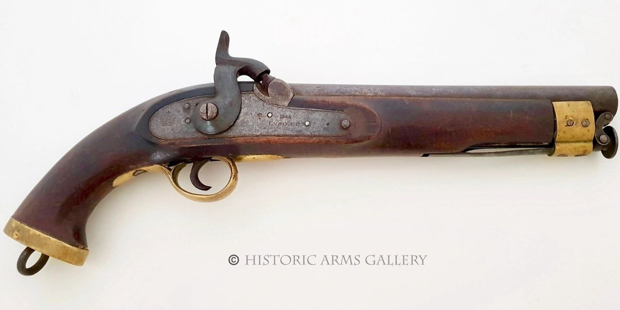 Enfield Percussion Cavalry Pistol 1844