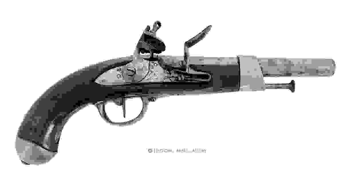 French year 13 Cavalry Pistol