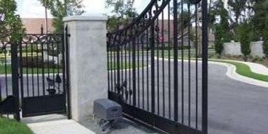 residential swing gates, commercial swing gates, Dual Gates, Single Gates
