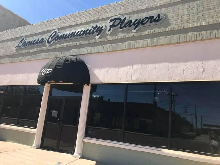 Front of Lamesa Community Players Theater, 214 North Austin, Lamesa, Tx