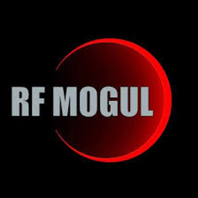 RF Mogul logo. RF Mogul internet and TV for the GO and RV