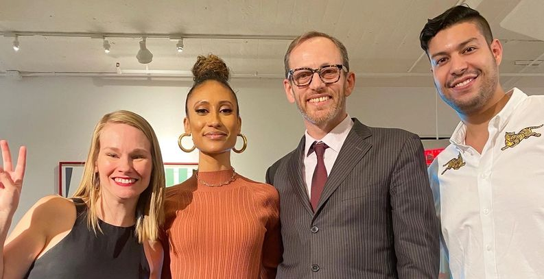 elaine welteroth sits with newsweek and the middlests, with pedro l rodriguez and steph berenson