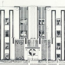 24 N. Goodman Drawing of Building