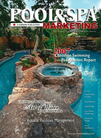 Osprey Aquascapes Featured on the cover of Pool & Spa Magazine.