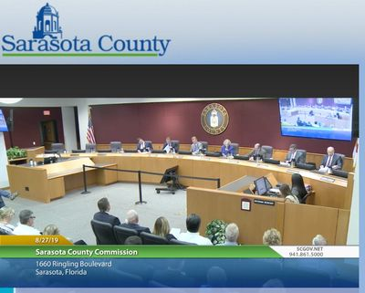 Sarasota County Commission Meetings related to Selby Aquatic Center