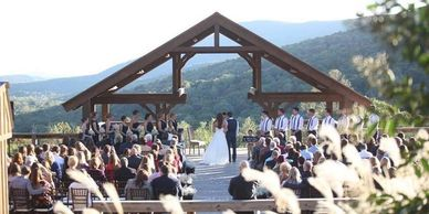 Wedding on top of Lookout Mountain