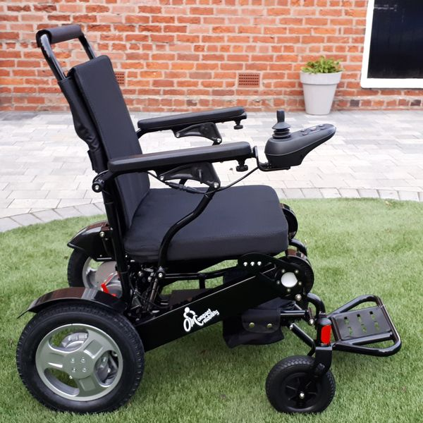 iFold45 Powered Wheelchair in Black