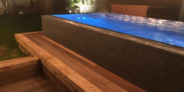 fast lane endless pools swim spa stainless steel swimming counter current pre fabricated spa