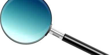 Magnifying glass for chimney Inspections for the safety of our clients is our top priority