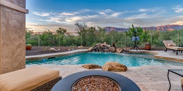 Superstition Foothills Gold Canyon Home Toll Brothers Superstition Mountain Gold Canyon Luxury Home