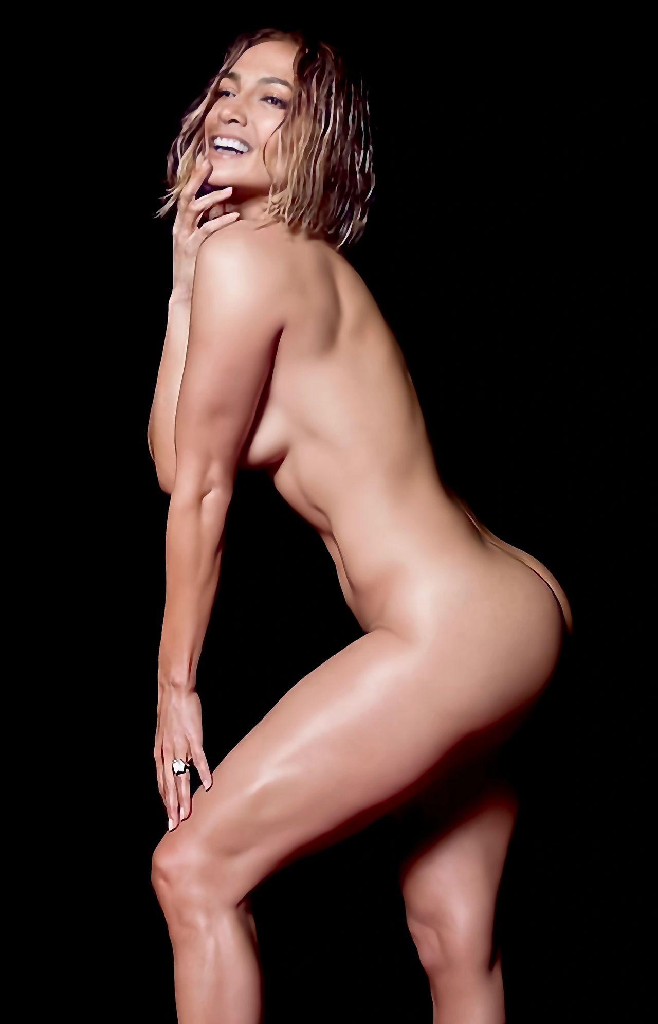 Jennifer Lopez's new naked music video.
