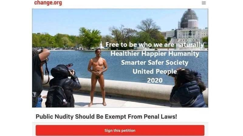 Public Nudity Should Be Exempt From Penal Laws!