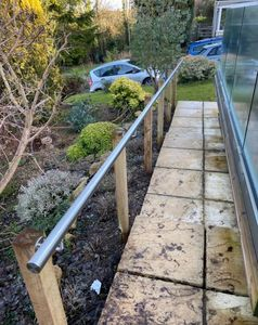 Installation of Hand Rail