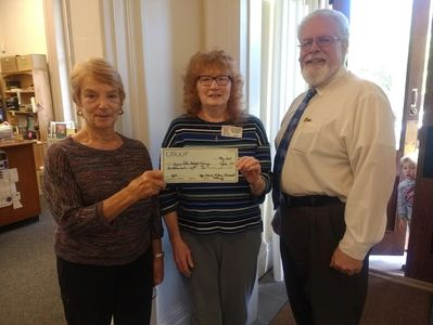 Upper Delaware Unitarian Universalize Fellowship donation.