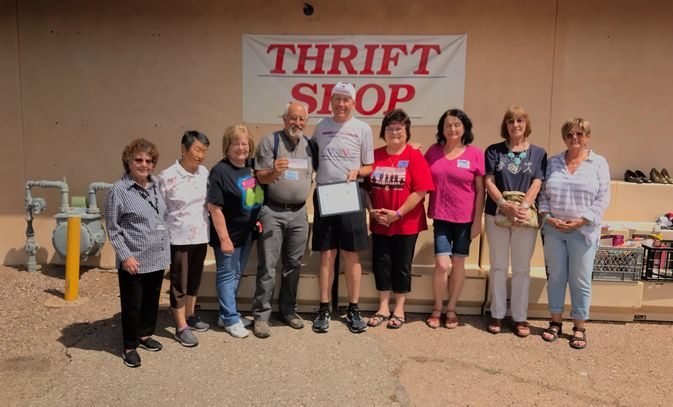 Our newest sponsor, The Fort Huachuca Community Thrift Shop