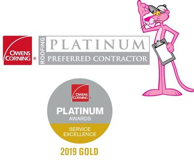 Hinckley Roofing - Owens Corning Platinum Preferred Contractor