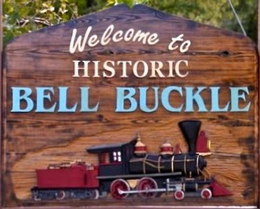 Welcome to Bell Buckle, TN Sign