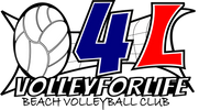 Volley For Life Logo