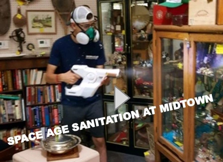 #CovidCleaning #SanitizeStore #MidtownMercantile #OpenSafe