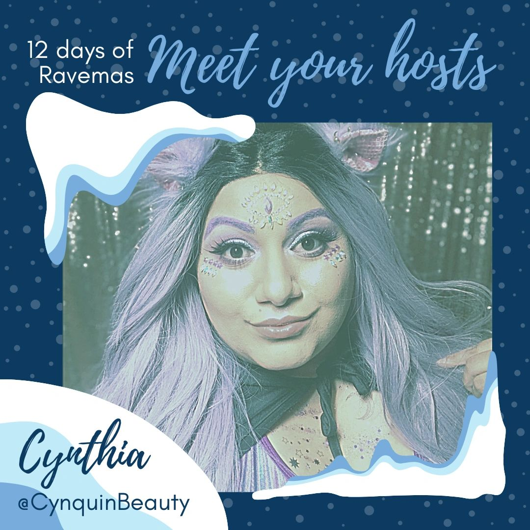 Be sure to follow @CynQuinBeauty for all things rave beauty!