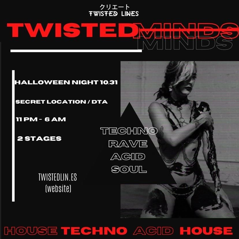 Twisted Minds, ATL Underground, ATL Raves, ATL Techno, Techno Shuffle Parties,
