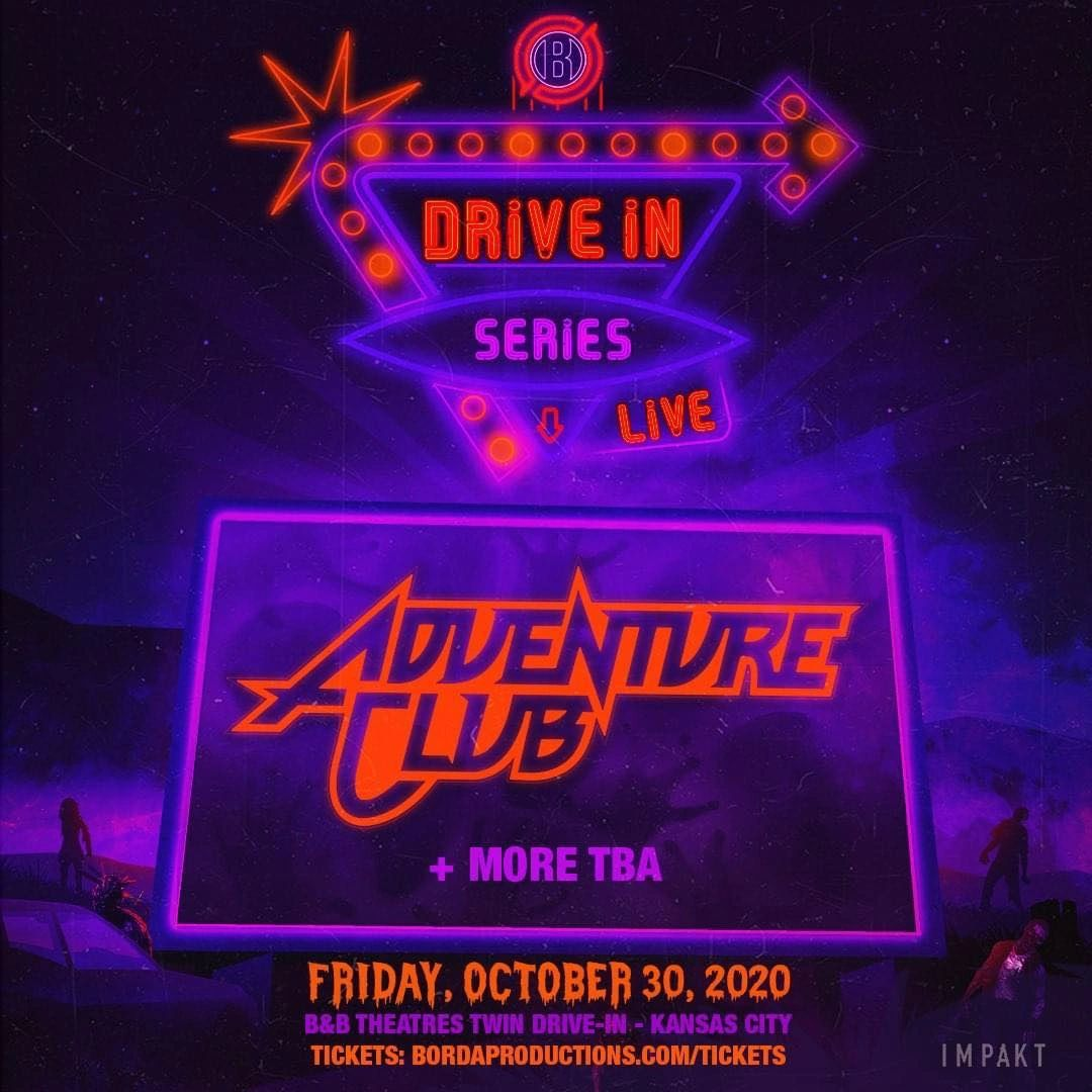 Drive-in Series, Drive in Borda Productions, List of Drive in Raves, Drive In Raves Midwest, Midwest Drive in Raves, Midwestern raves. Festivals in 2020, 2020 Festivals List, 2020 Holloween Parties, 2020 Parties List