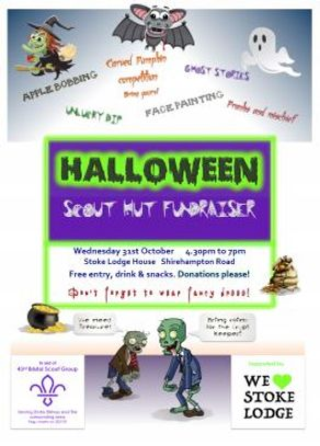 Stoke Lodge House  In aid of the 43rd Scout Group  Click here  for a poster