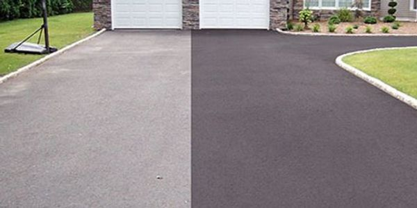 Asphalt sealing using heavy duty sealers blended specifically for the Northwest.