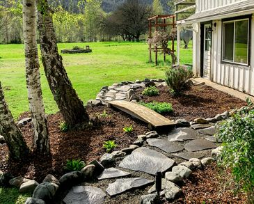 Flagstone Pathway, Farmhouse