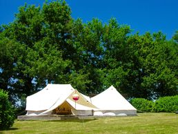 Glamping Luxury Bell Tent South of France