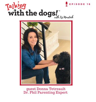 Dog Mom Donna Tetreault and her Labradoodle Addie