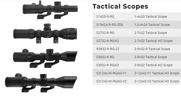 Tactical Scopes Manuals