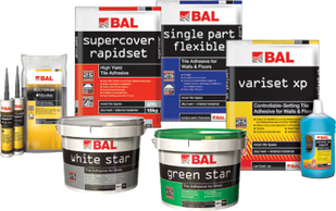 bal adhesive for Tiles Exeter devon cornwall somerset