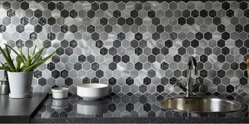 mosaic wall and floor tiles by la fabrico Exeter Devon