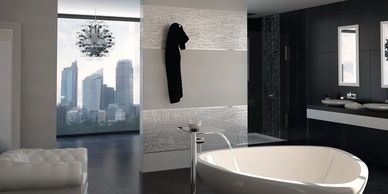 Ceramic Tiles WALL TO FLOOR TILE LUXURY in Exeter Superior tiles at affordable prices.