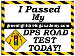 DPS ROAD TEST  3rd Part Testing authorized drivers license  teen driver